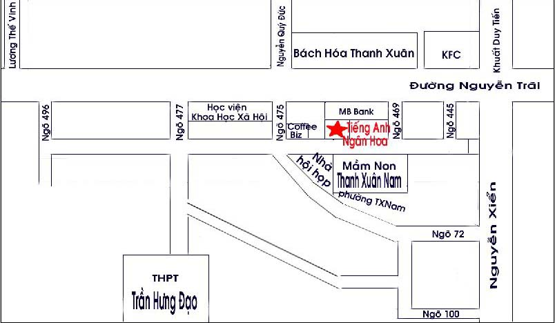 Nguyen Trai office map